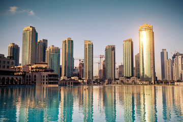 Fototapete - Dubaï ville