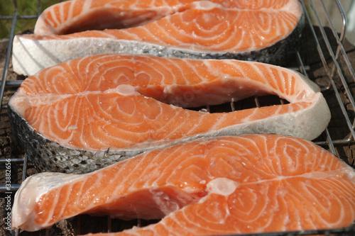 Мультиваркаы красная рыба