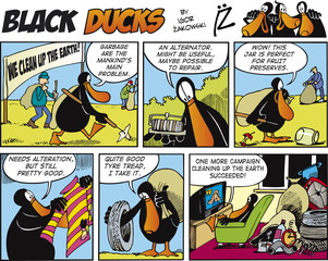 Foto op Aluminium Comics Black Ducks Comics episode 72