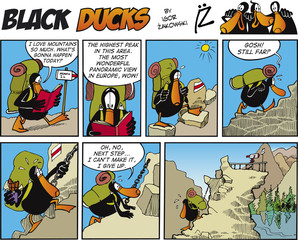 Garden Poster Comics Black Ducks Comic Story episode 70