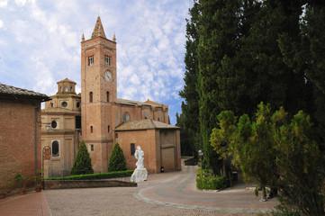 Wall Mural - Abbazia di (Abbey of) Monte Oliveto Maggiore