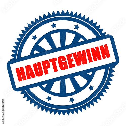 hauptgewinn