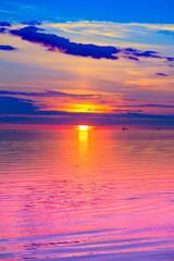 Sunset Twilight Paradise