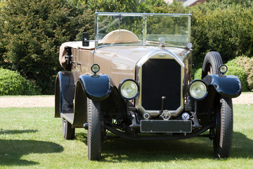 Antique luxury classic car