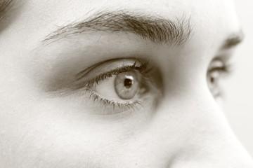 Una mirada clara