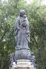 Monumento Virgen Maria
