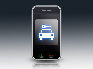 "Smartphone ""Car Rental"""