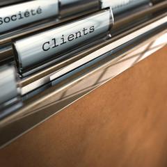 relation clients - société, portefeuille client