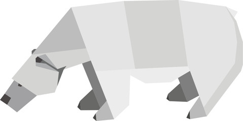 Eisbär - Origami
