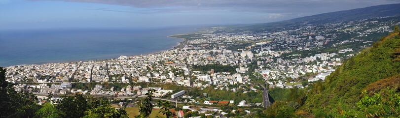 Ville de Saint-denis de La Réunion.