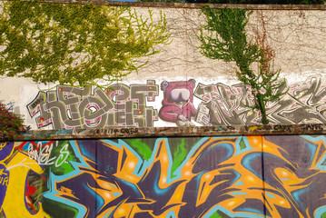 GRAFFITIS, EXPRESIÓN CALLEJERA