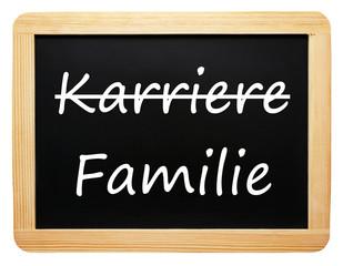 Karriere und Familie - die Entscheidung