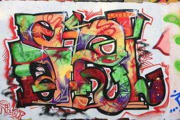 In de dag Graffiti Graffiti