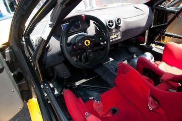 Interior racing car