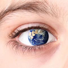 il pianeta nell'occhio