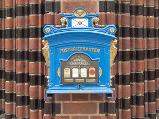 German Postbox (remake from 1896)
