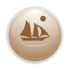 Boule, bouton, sphère, reflet, transparent, picto, logo, icône