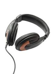Big headphones, isolated on white.
