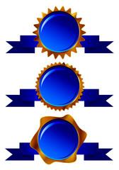 青のフレーム