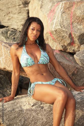Sexy Black Women In Bikini 75