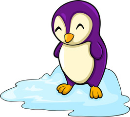 illustration penguin .vector file