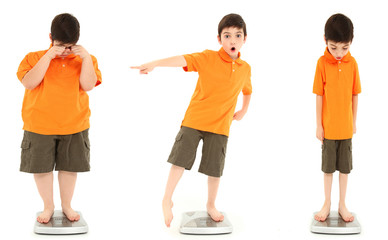 Child Obesity Average Underweight on Scale