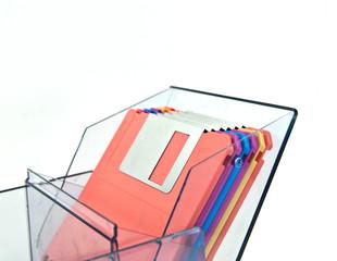 Colorful diskette
