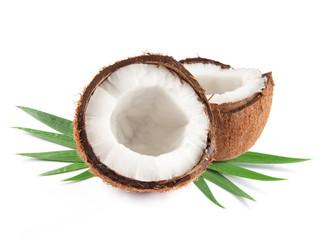 Two coconut half