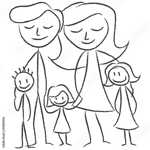 """""""familie mit kindern"""" stockfotos und lizenzfreie vektoren"""