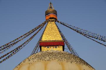 Der grosse Stupa von Boudha,Kathmandu