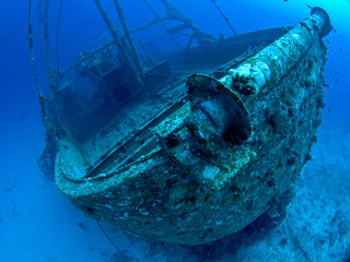 Acrylic Prints Shipwreck Ship Wreck in the Red Sea