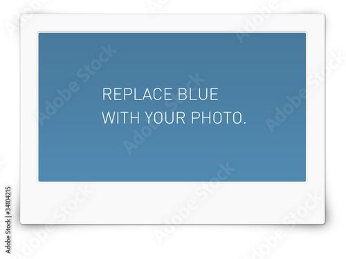 Polaroid Rahmen Querformat 16:9\