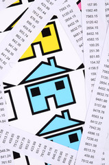 Receipts and house