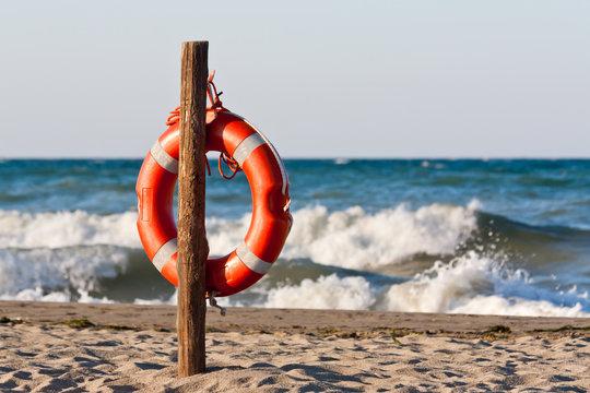 lifebuoy in the Mediterranean