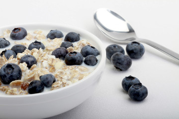 Muesli with Blueberries
