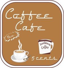 Retro Coffee Cafe