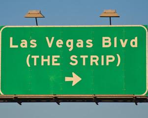 Las Vegas Boulevard (The Strip) Sign