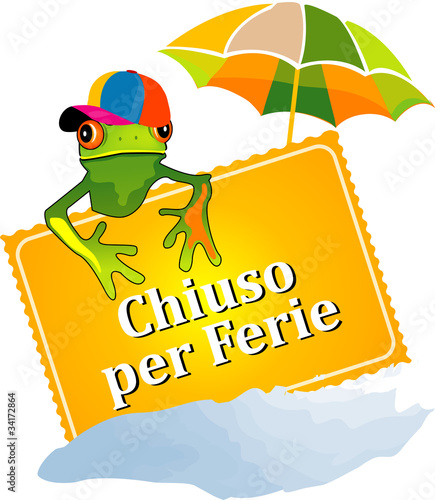 Chiuso Per Ferie Stock Image And Royalty Free Vector Files On