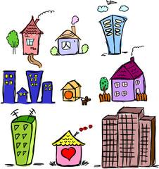Искусство домов для вашего дизайна