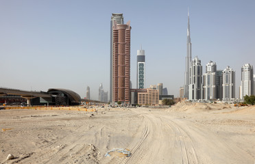 Construction in Dubai, United Arab Emirates