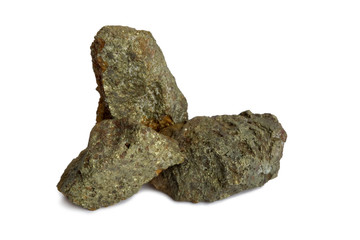 Natural samples of polymetallic ores