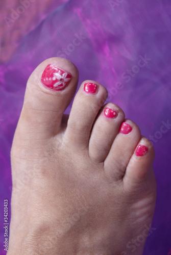 decorazione unghie piedi immagini e fotografie royalty