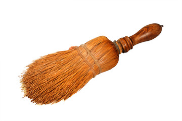 retro table broom