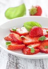 Erdbeercarpaccio