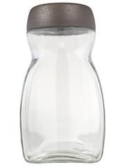 Obraz Słoik szklany, izolowany ze ścieżką na białym tle - fototapety do salonu