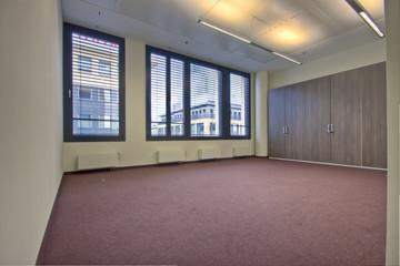 Zimmer leeres Büro ohne Möbel