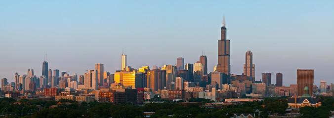 City of Chicago panorama