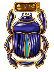 The Egyptian sacred symbol - scarab