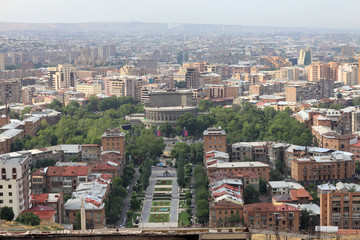 Yerevan in the morning