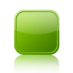 Green blank web button